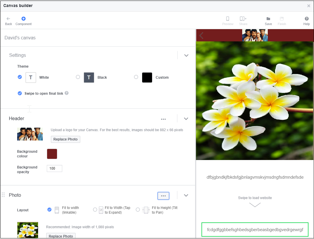Setting up and attributing Facebook canvas ads – Help Center