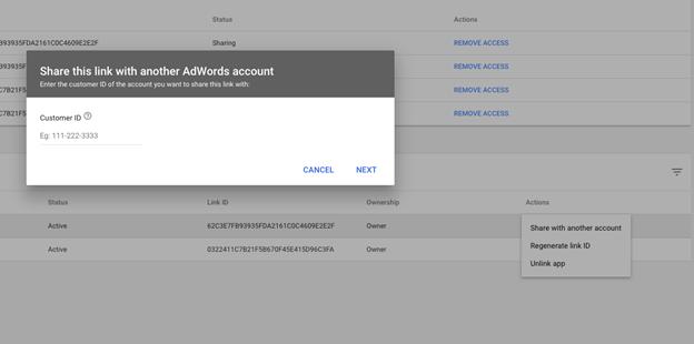 Recording multiple agencies/mccs Google Ads (adwords) accounts