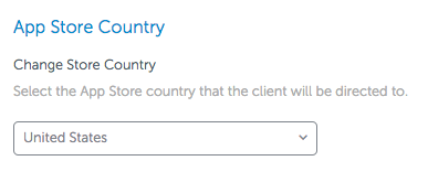 how to change country on app store android
