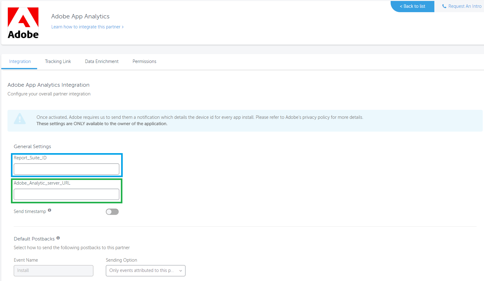 Adobe analytics integration with AppsFlyer – Help Center