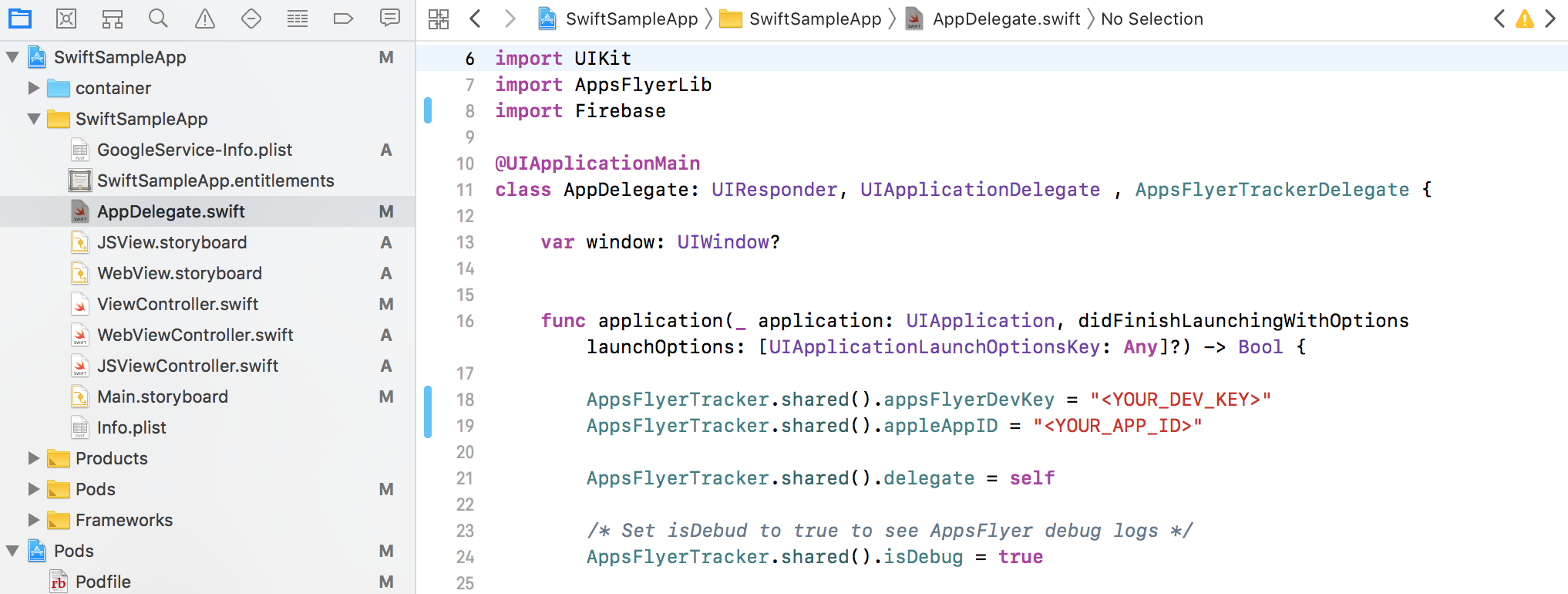 iOS SDK integration for developers – Help Center